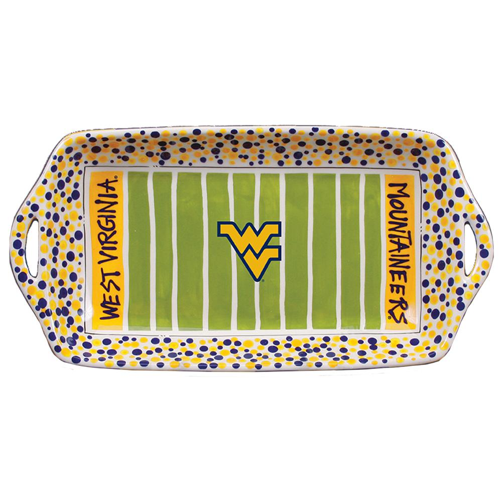 West Virginia Magnolia Lane Stadium Tray