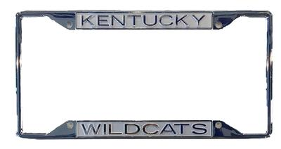 Kentucky Wildcats Frosted Licensed Plate Frame