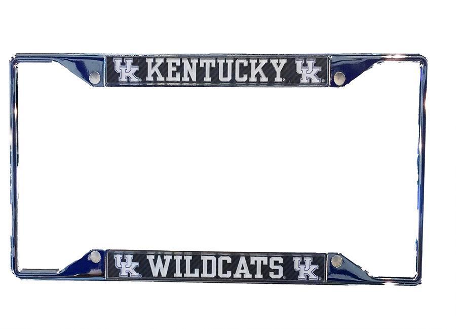 Kentucky Wildcats Carbon Fiber License Plate Frame