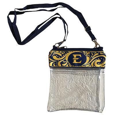 ETSU Clear Crossbody Bag