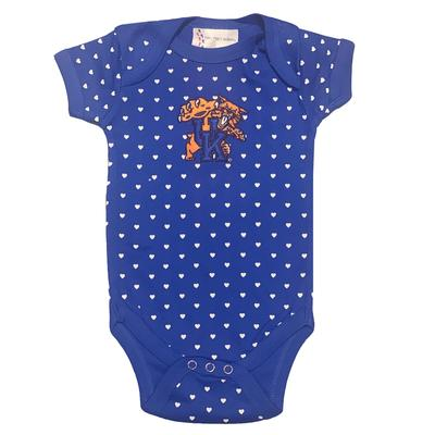 Kentucky Infant Heart Onesie