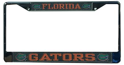 Florida Carbon Fiber License Plate Frame