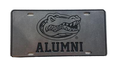 Florida Gator Head Logo Alumni License Plate