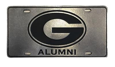 Georgia Power G Logo Alumni License Plate