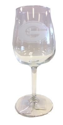 Georgia 12oz Satin Etched Wine Glass