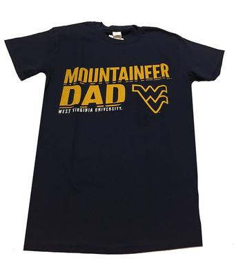 West Virginia Mountaineer Dad T-Shirt