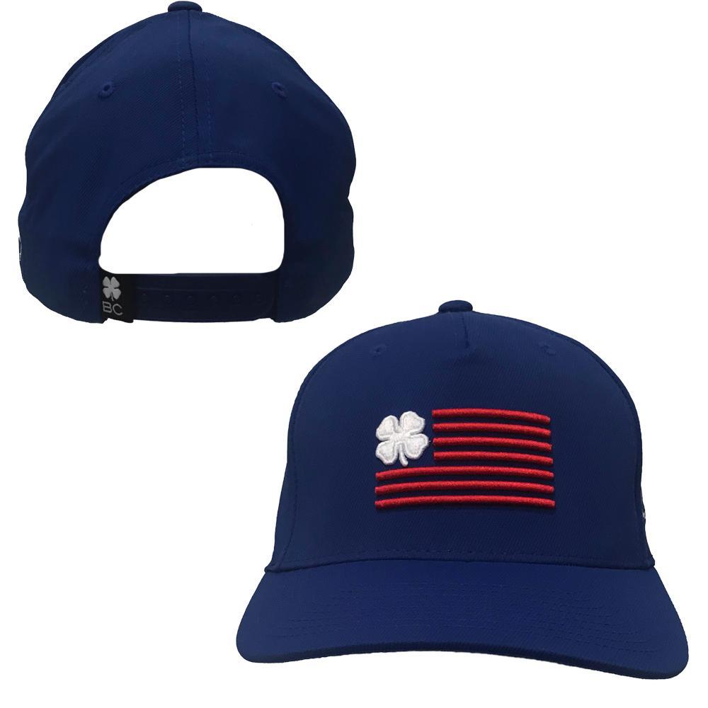 Royal Black Clover Nation Flag Hat
