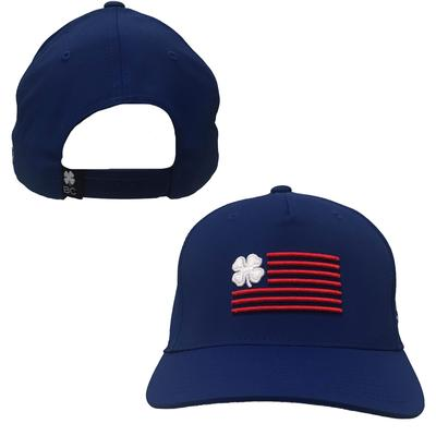 Royal Black Clover Nation Flag Hat