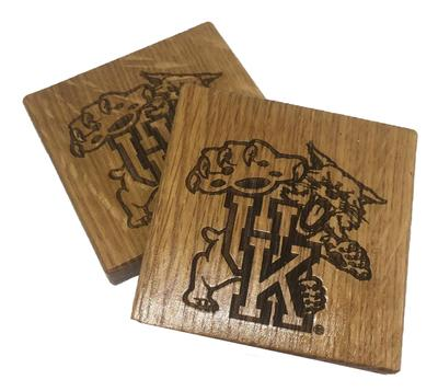 Kentucky Timeless Etchings Coaster Set/Bottle Opener