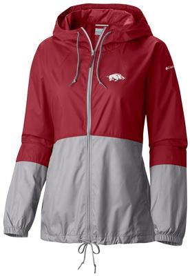 Arkansas Columbia Women's Flash Forward Windbreaker