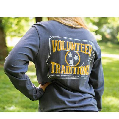 Tennessee Volunteer Traditions Outline Pocket Tee