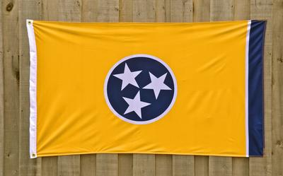 Tennessee State Flag By Volunteer Traditions