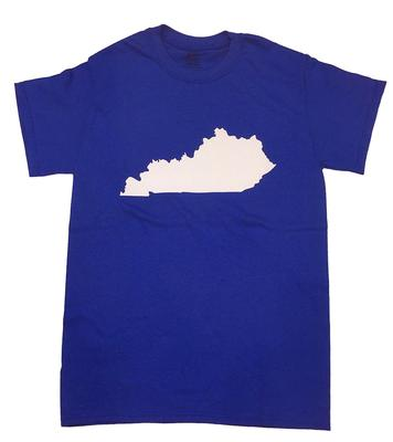Kentucky State Outline Tee