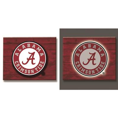 Alabama Evergreen Mixed Material Wall Decor