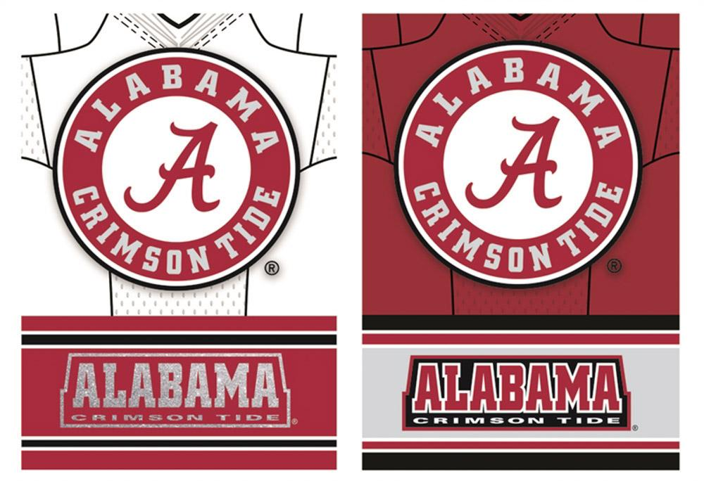 Alabama Jersey House Flag