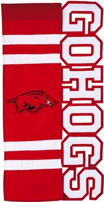 Arkansas GO HOGS House Flag