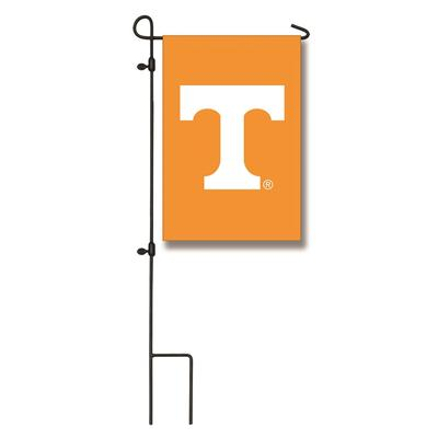 Tennessee Evergreen Power T Garden Flag