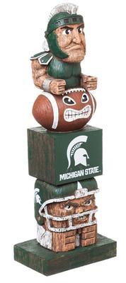 Michigan State Tiki Totem Statue