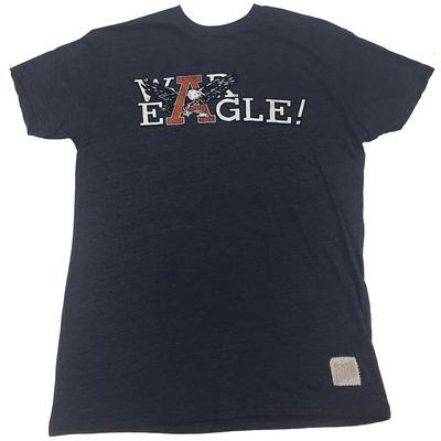 Auburn War Eagle Streaky Triblend Tee