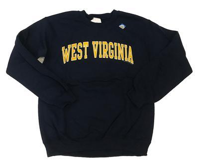 West Virginia Arch Crew Sweatshirt