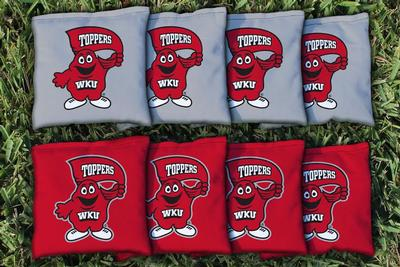 Western Kentucky 16oz Corn filled Cornhole Bags (8)