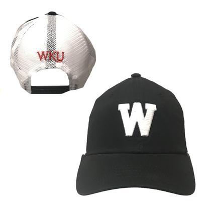 Western Kentucky Top Of The World W Black Adjustable Trucker Hat