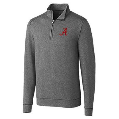 Alabama Cutter & Buck Big And Tall Shoreline 1/2 Zip Pullover