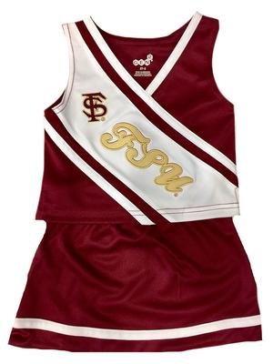 Florida State Toddler 2 Piece Cheerleader Outfit