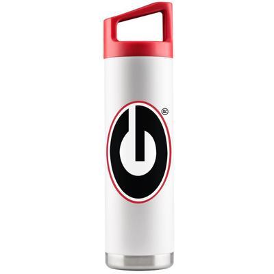Georgia Gametime Sidekick 22oz Steel Water Bottle