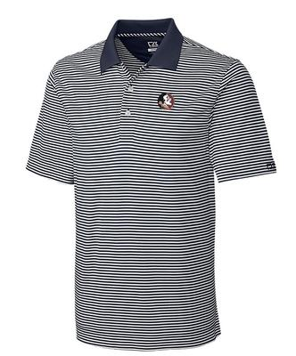 Florida State Cutter And Buck DryTec Trevor Stripe Polo