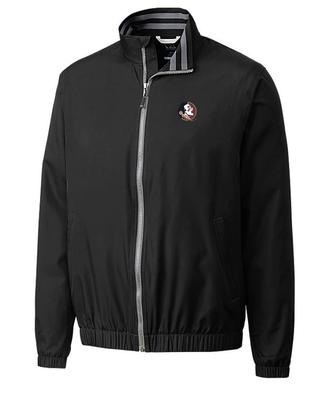 Florida State Cutter And Buck Nine Iron Full Zip Jacket