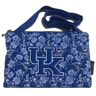 Kentucky Crossbody Purse Bloom Pattern