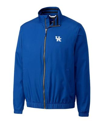 Kentucky Cutter And Buck Nine Iron Full Zip Jacket