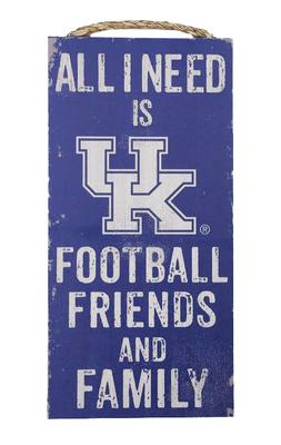 Kentucky All I Need Wooden Sign (6