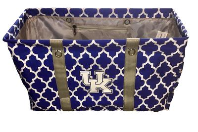 Kentucky Logo Chair Quatrefoil Picnic Caddy