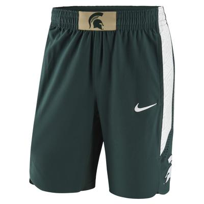 Michigan State Nike Authentic Basketball Short