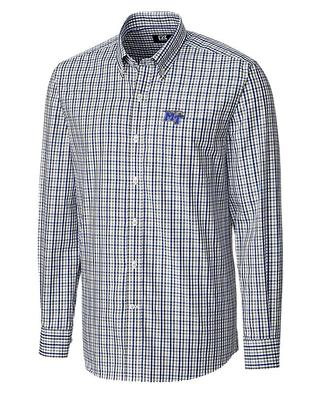 MTSU Cutter And Buck Gilman Plaid Woven