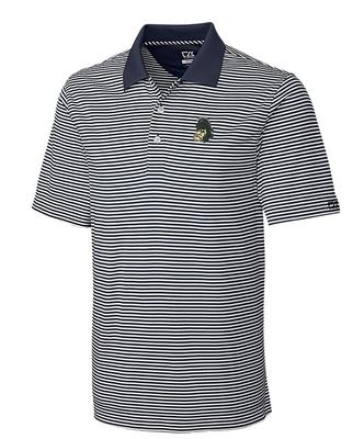 Michigan State Cutter And Buck DryTec Trevor Stripe Polo