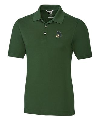 Michigan State Cutter And Buck Advantage Gruff Sparty DryTec Polo