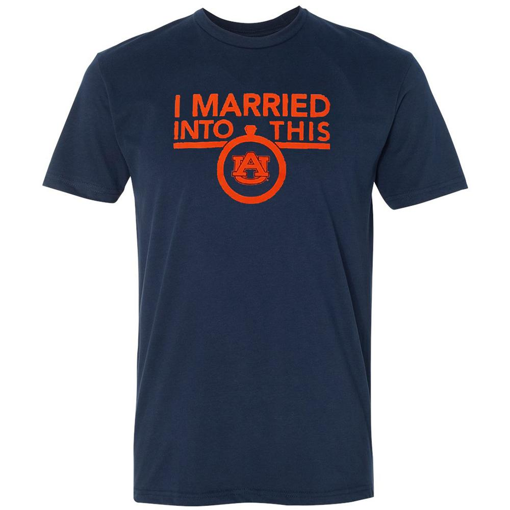 Auburn Women's I Married Into This T- Shirt