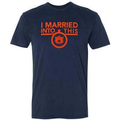 Auburn Women's I Married Into This T-Shirt