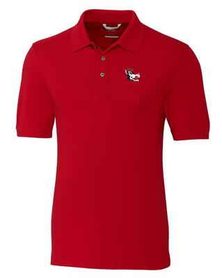 NC State Cutter And Buck Advantage Alt Logo DryTec Polo RED