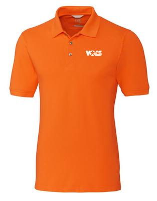 Tennessee Cutter And Buck Advantage VOLS Logo DryTec Polo