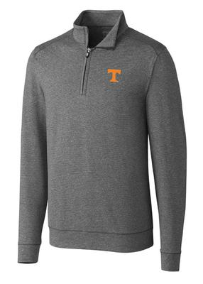 Tennessee Cutter & Buck Big And Tall Shoreline 1/2 Zip Pullover