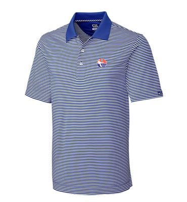 Florida Cutter And Buck DryTec Trevor Stripe Polo