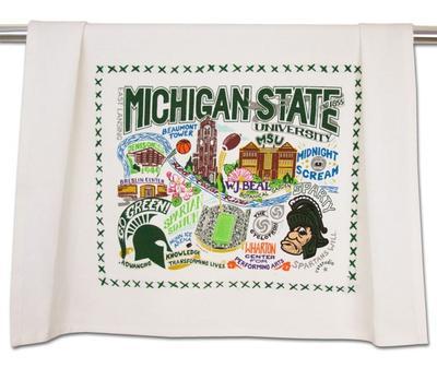 Michigan State Dish Towel
