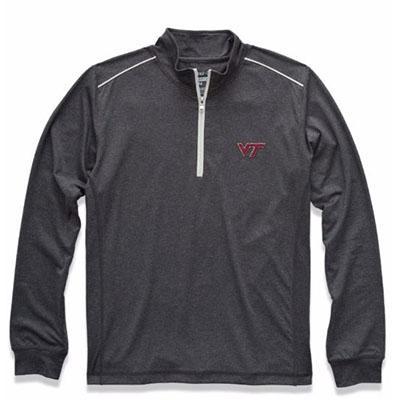 Virginia Tech Johnnie- O Lammie Performance 1/4 Zip Pullover