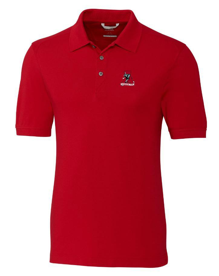 Alabama Cutter And Buck Advantage Alt Logo Drytec Polo