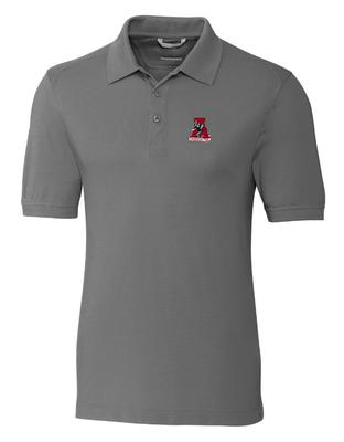Alabama Cutter And Buck Advantage Alt Logo DryTec Polo ELEMENTAL_GREY