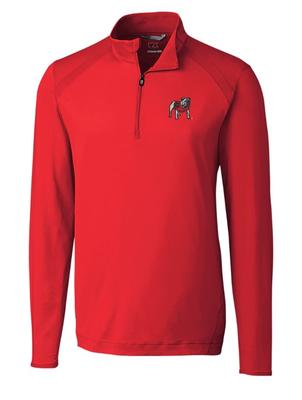 Georgia Cutter And Buck Williams Half Zip Pullover